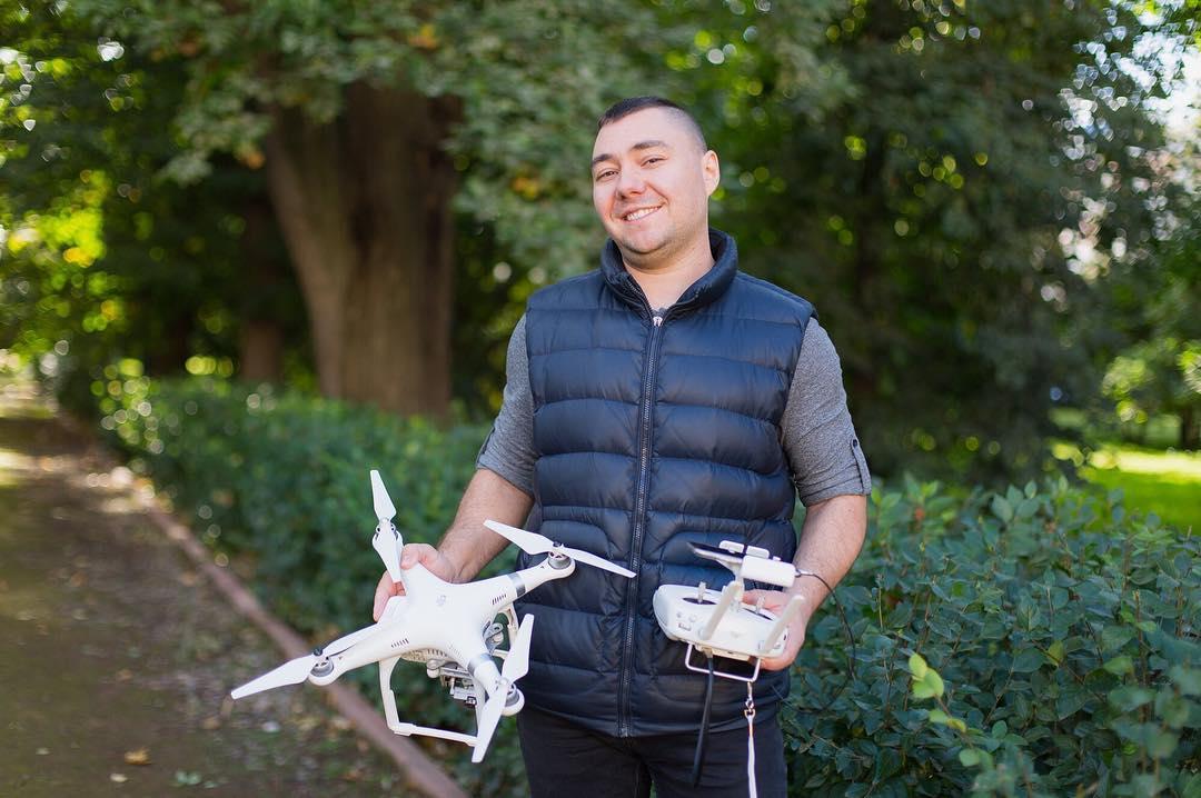 Видеосъемка дроном
